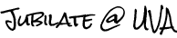Jubilate @ UVA Retina Logo
